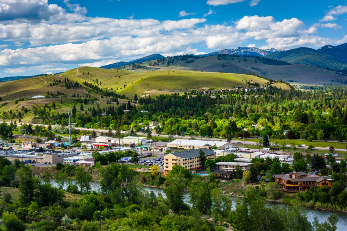 missoula montana from above