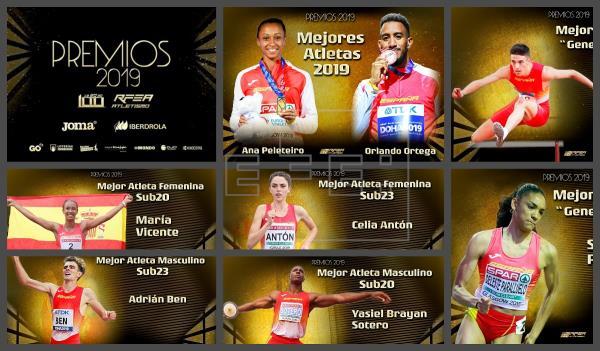 Ana Peleteiro y Orlando Ortega,los mejores de 2019