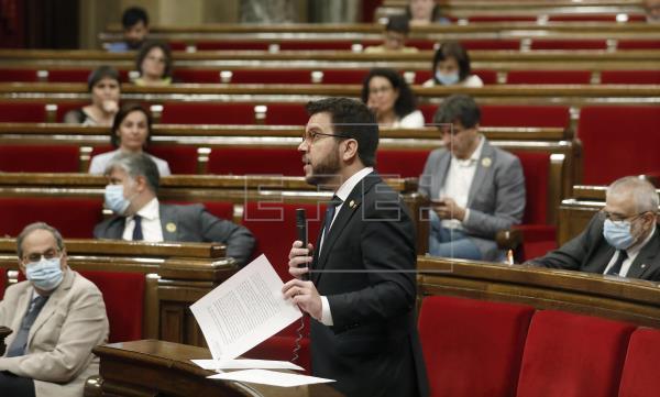 Aragonès affirme que la pandémie a renforcé la nécessité d'un état propre |  Politique