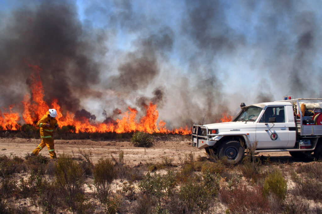 Comment brûler le buisson pour réduire le risque de feu de brousse