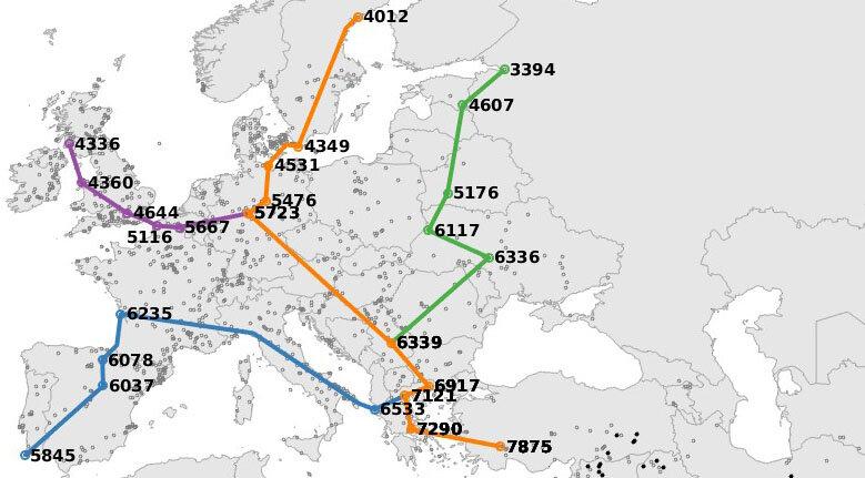 De nouvelles recherches montrent que le climat a été le facteur clé influençant le mouvement des premiers agriculteurs à travers l'Europe