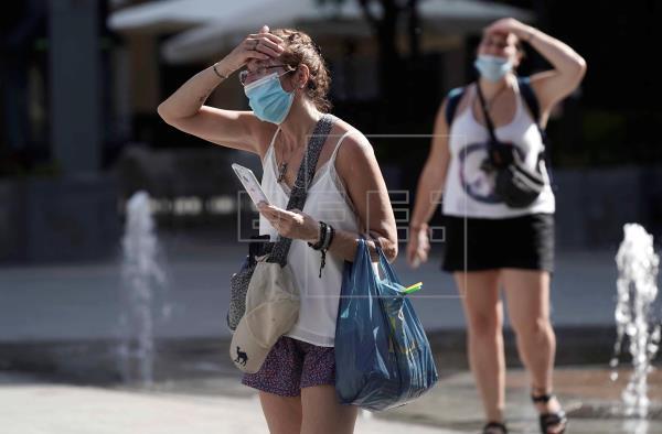 Des températures allant jusqu'à 41 degrés déclenchent des avertissements ce lundi dans presque toute l'Espagne |  Société