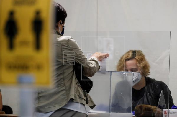 Jornada electoral en Ordizia