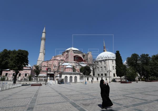 Erdogan proclama mezquita la basílica de Santa Sofía en Estambul