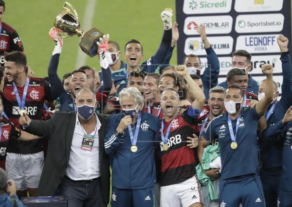 Flamengo bat à nouveau Fluminense et est sacré champion de Rio de Janeiro |  Réseaux sociaux sportifs