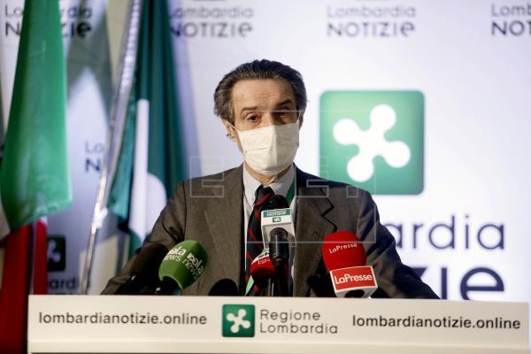 El gobernador de Lombardía es investigado por fraude durante la pandemia