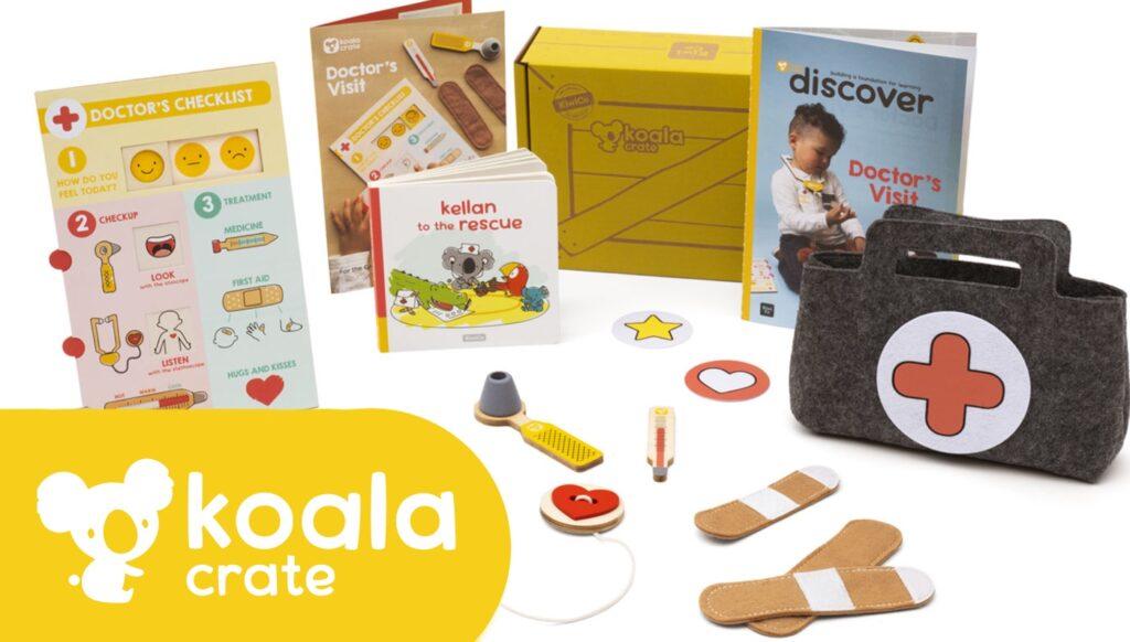 Koala Crate Review des enfants et des parents + code promotionnel!