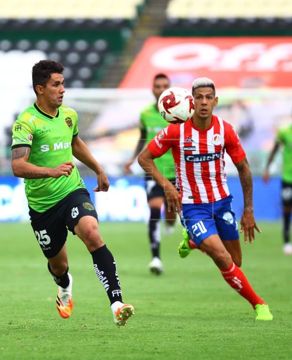 El argentino Quiroga confía en ser campeón con San Luis para sacarse una espina