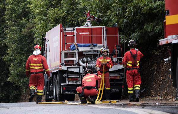 La UME se desplaza a Férez (Albacete) para combatir un incendio forestal
