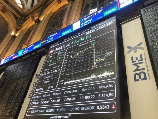 La Bolsa española cae el 0,26 % tras la apertura, pendiente de los resultados empresariales