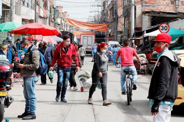 La Colombie ajoute en un jour plus de 10 000 cas positifs du COVID-19 imparable |  Société