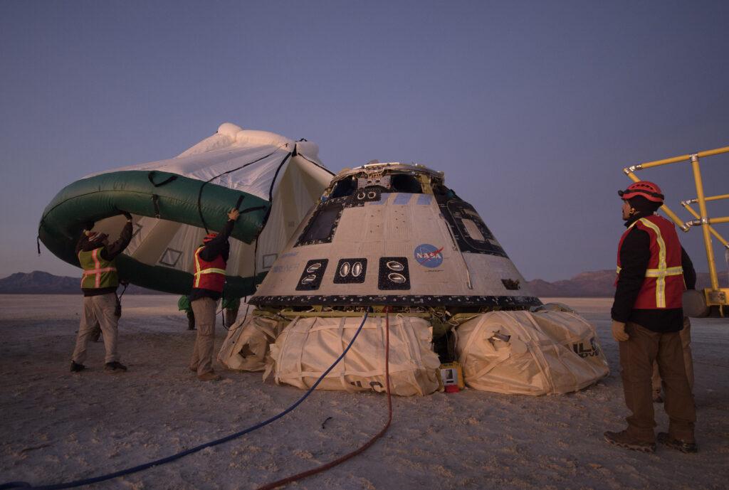 La NASA ajoute plus de correctifs de sécurité pour la capsule de l'équipage de Boeing