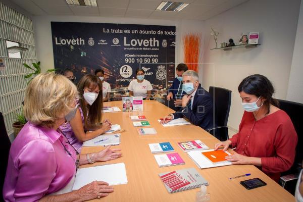 La lucha contra la trata en la pandemia:196 detenidos y 215 mujeres liberadas