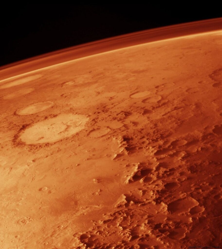 La quête des signes de la vie antique sur Mars