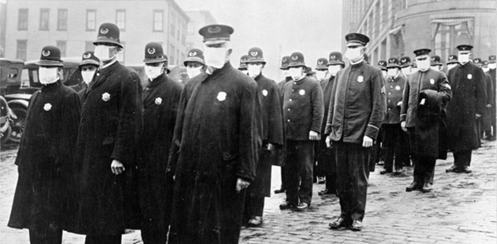 La résistance aux masques pendant une pandémie n'est pas nouvelle - en 1918, de nombreux Américains étaient des «fainéants»