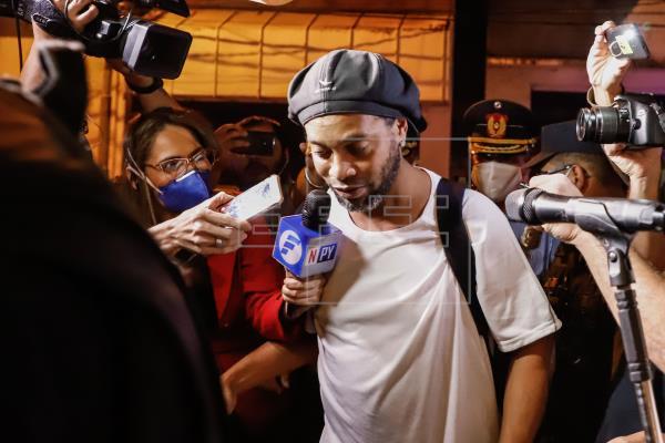 Revés judicial de Ronaldinho en acción para acogerse a una salida abreviada