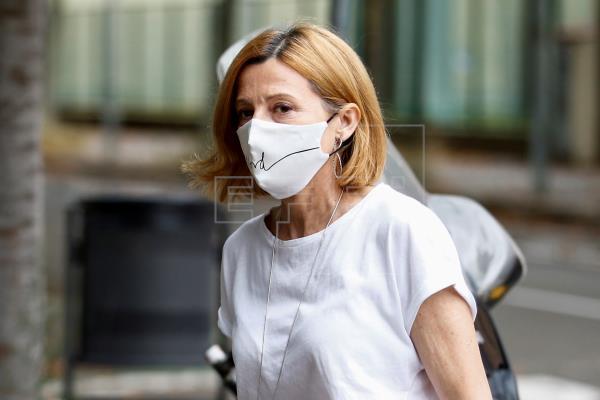 El tribunal del procés revoca el régimen de semilibertad de Carmen Forcadell