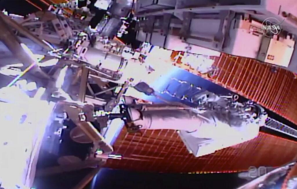 Les améliorations de puissance de la station spatiale sont presque terminées après une sortie dans l'espace