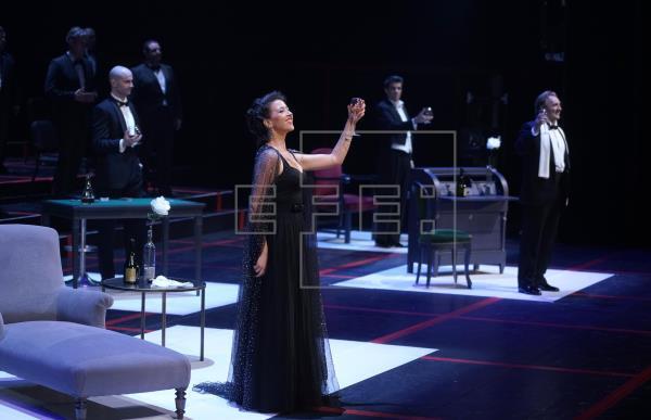 """Lisette Oropesa, primera mujer que hace un """"bis"""" en el Teatro Real"""