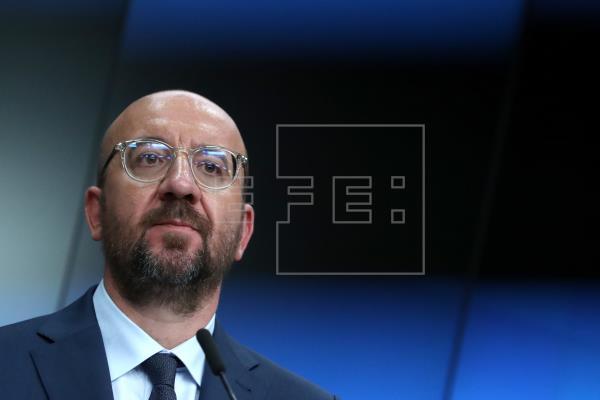 Michel constata grandes obstáculos para un acuerdo en la próxima cumbre de UE