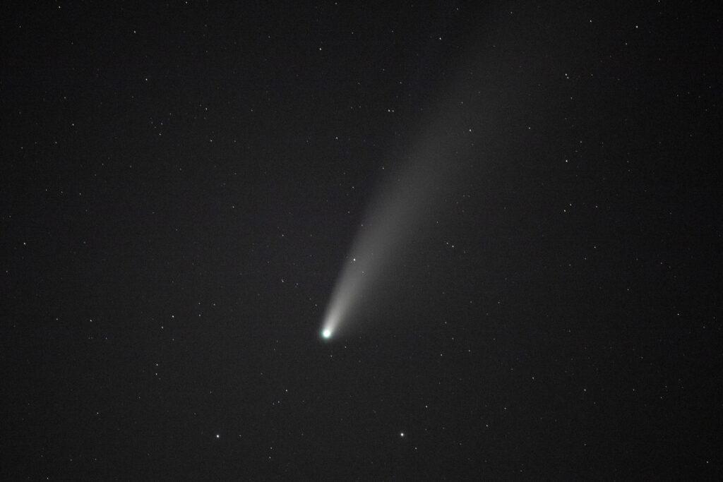 Pour photographier la comète Neowise, il faut de la patience et du placement
