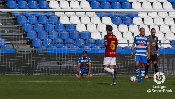 2-3. El Extremadura, descendido, compromete al Dépor