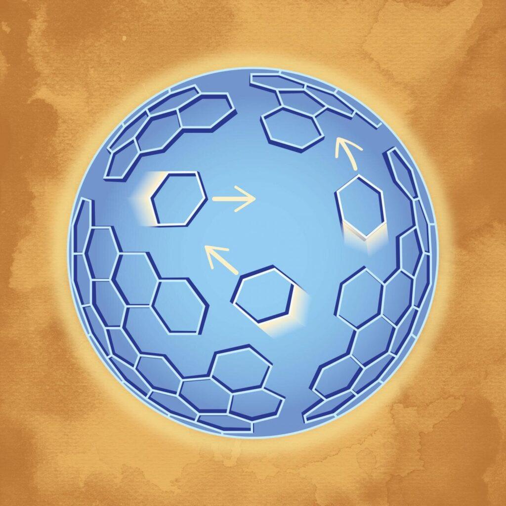 Une méthode novatrice révèle une structure dynamique du VIH