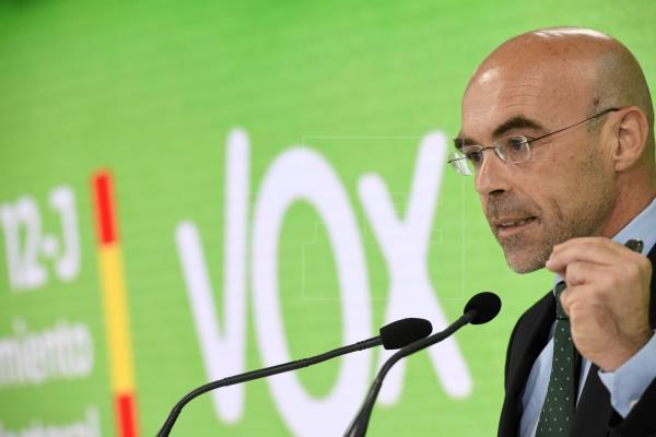 """Vox cree que el plan de recuperación de la UE es """"un rescate en toda regla"""""""