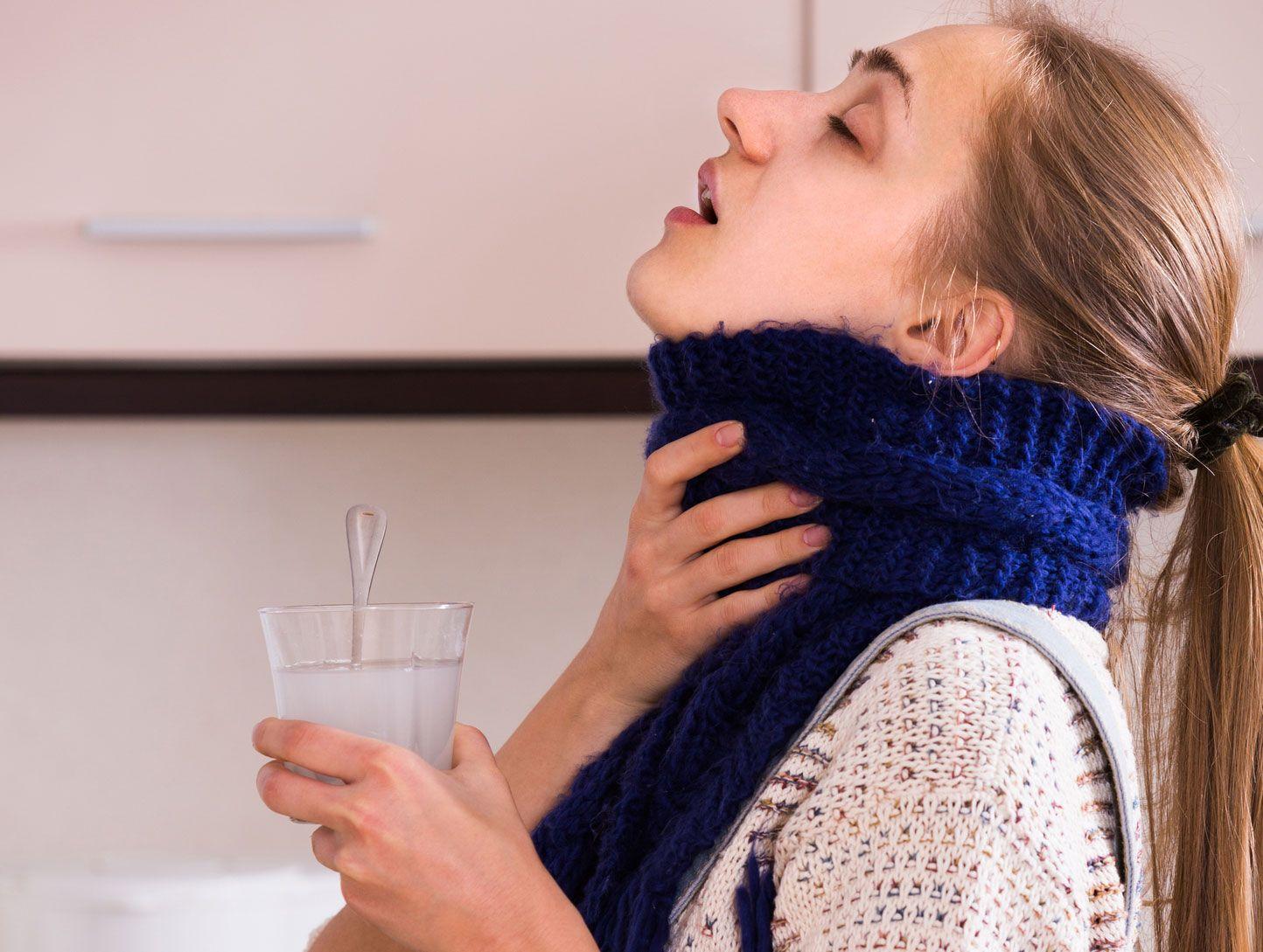 gargarisme contre l'angine