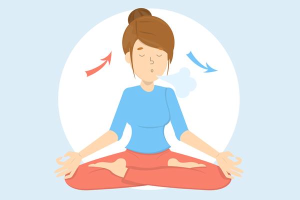 Exercices de respiration